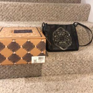 Brighton Alluna Black Shoulder Bag. H35903